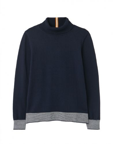 JOULES Orianna Knitted Roll Neck Jumper